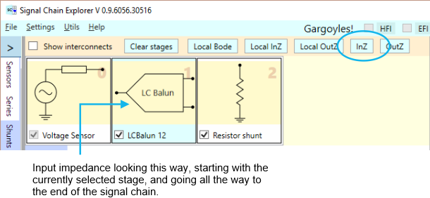 Input impedance button II