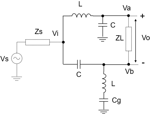 LC Balun single to differential
